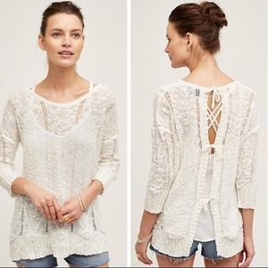 Anthro Knitted & Knotted 'Adelina' Sweater